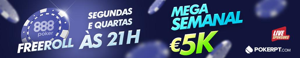 free mega semanal 888poker