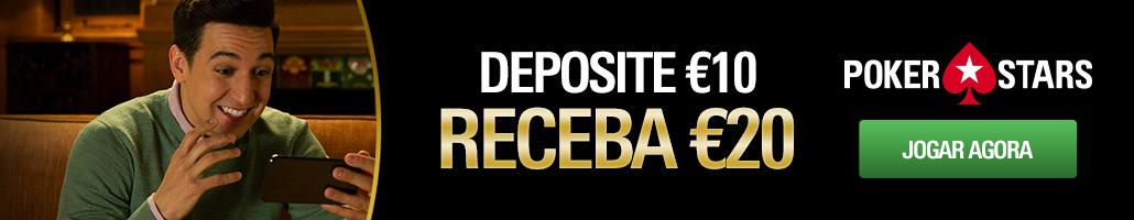 bonus primeiro deposito pokerstars
