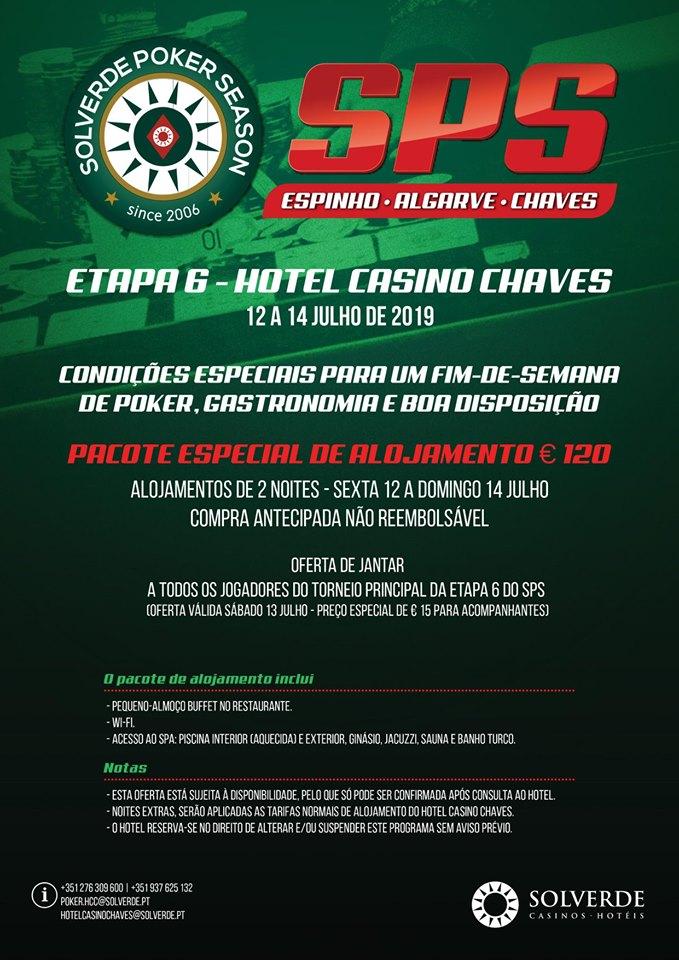 Alojamento da 6ª Etapa Solverde Poker Season