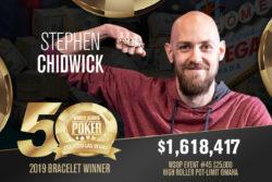 Stephen Chidwick WSOP