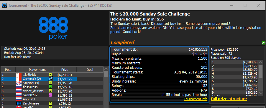 The $20.000 Sunday Sale Challenge