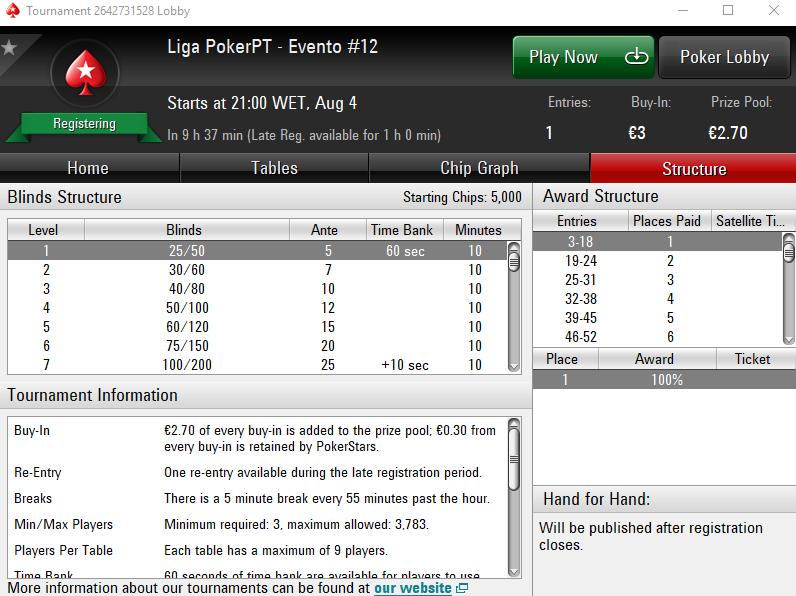 Liga PokerPT #12
