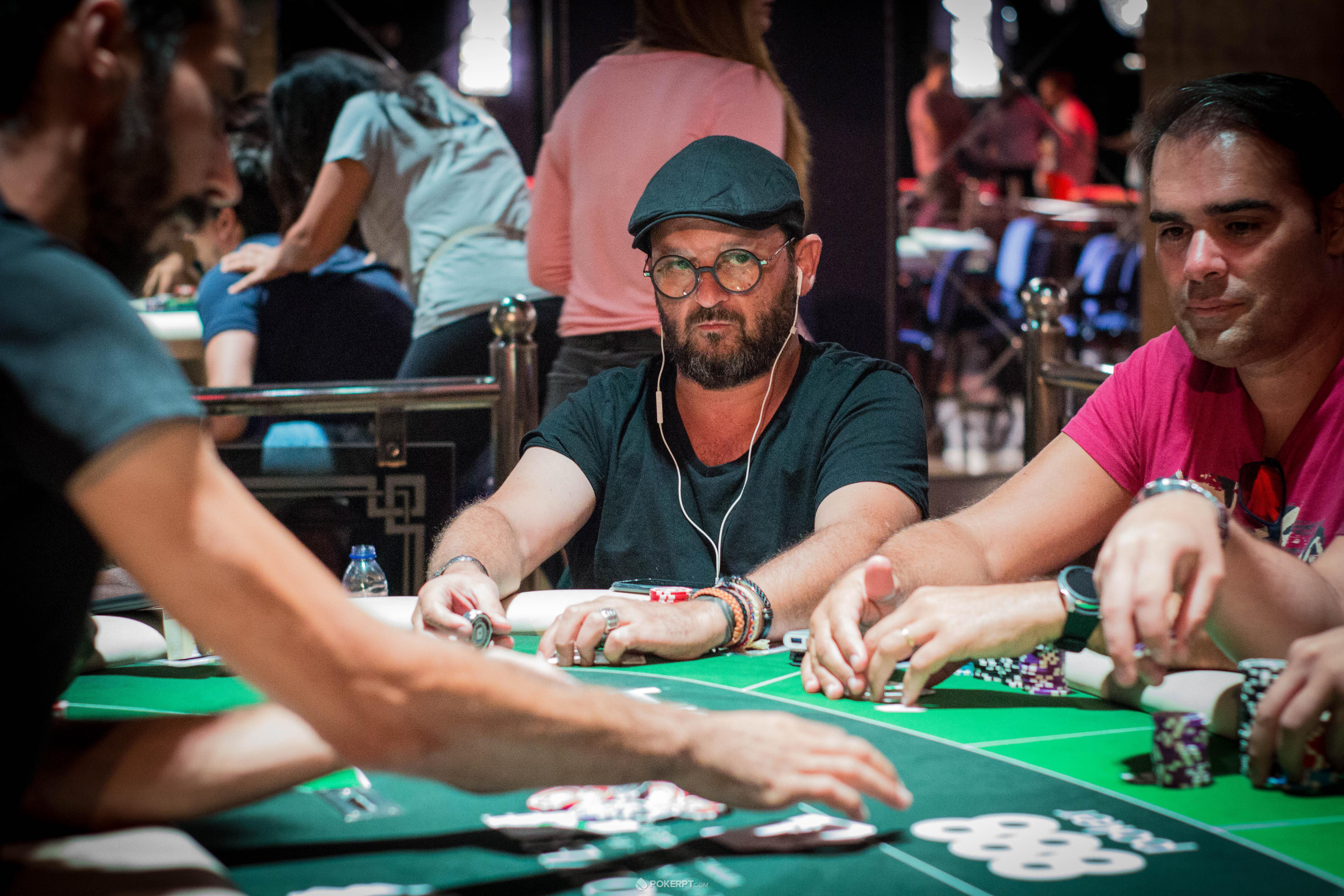 Xulio Gomez no WPTDeepStacks Portugal
