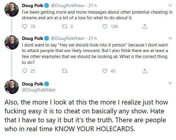 Tweets Doug Polk