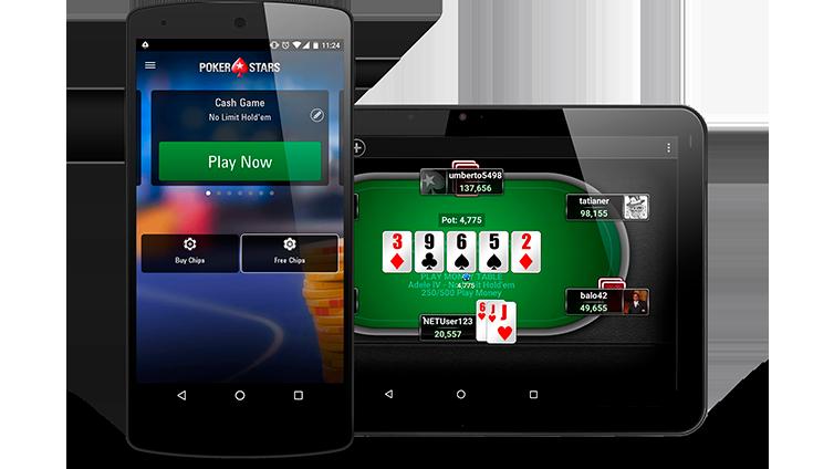 Jogar poker no iPhone