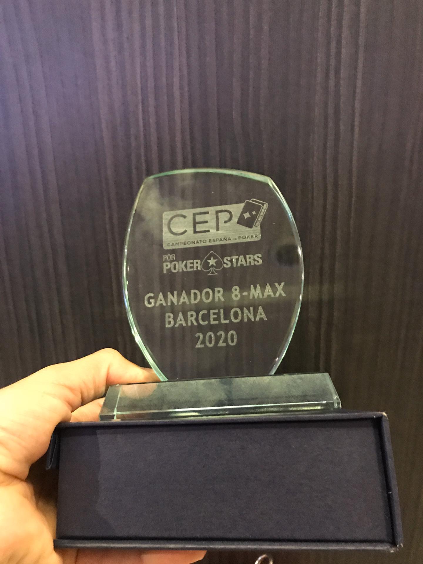 Troféu do 8-Max do CEP Barcelona