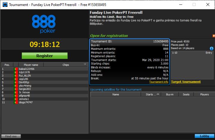 PokerPT Freeroll