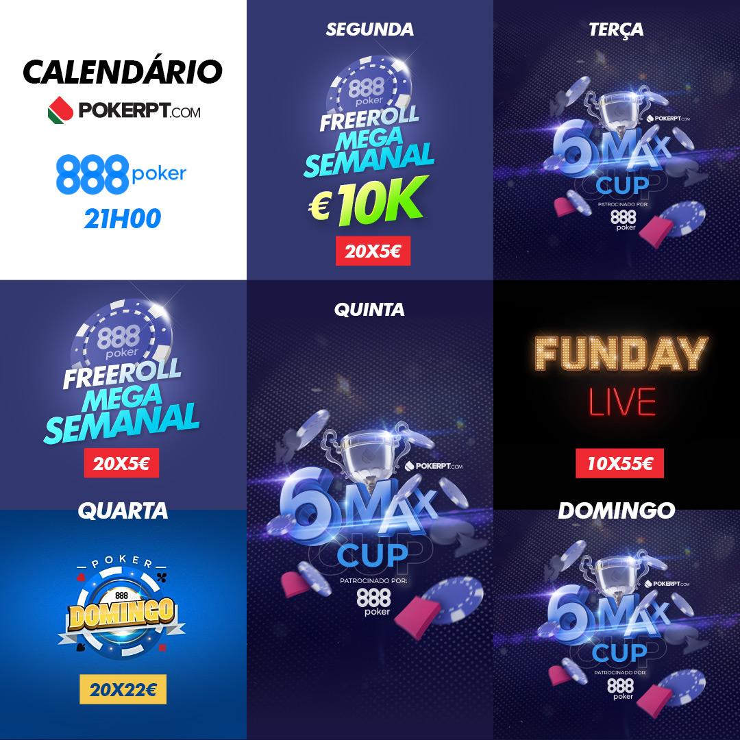 calendaario competições PokerPT