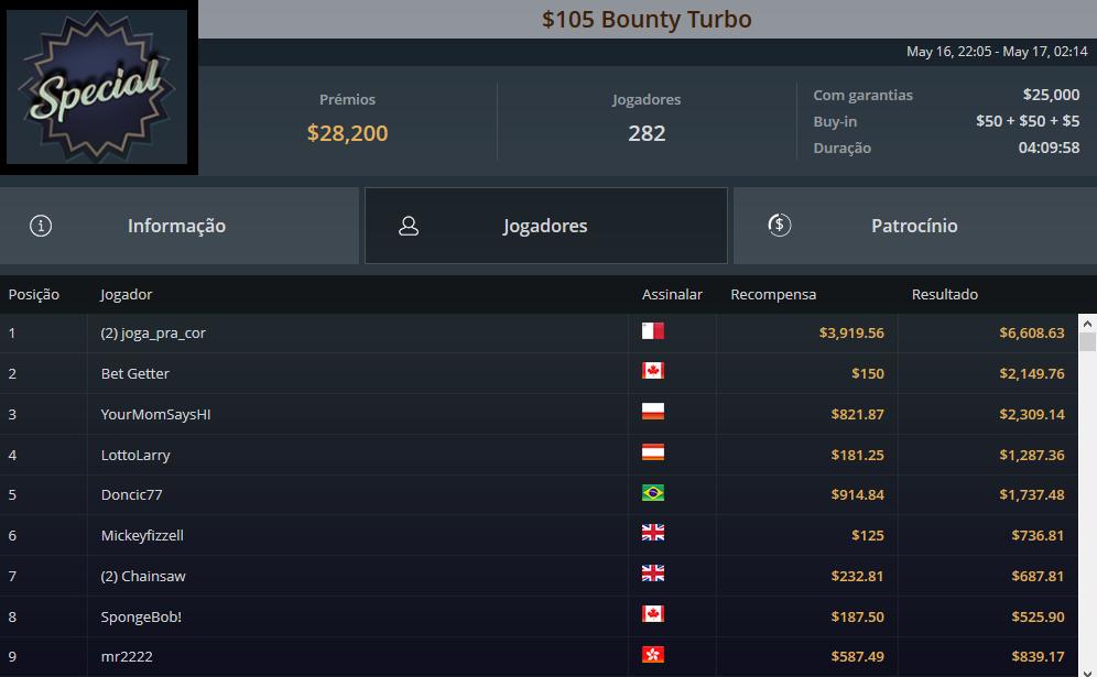 $109 Bounty Turbo