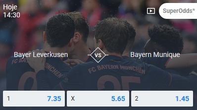 Bayer Leverkusen - Bayern Munique