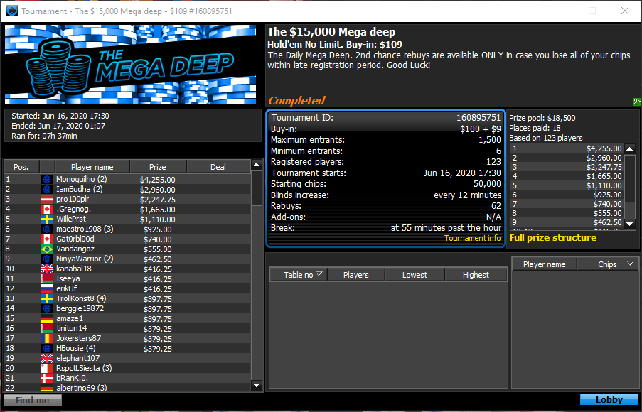 Mega Deep da 888poker
