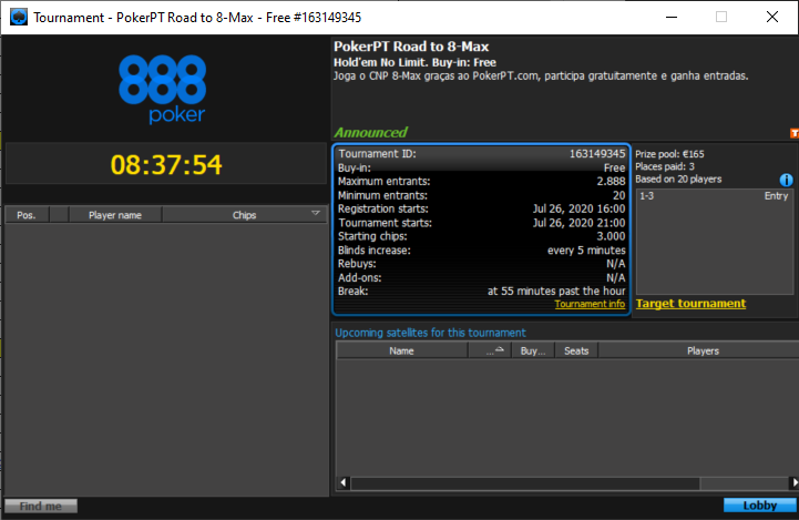 PokerPT Road to 8-Max