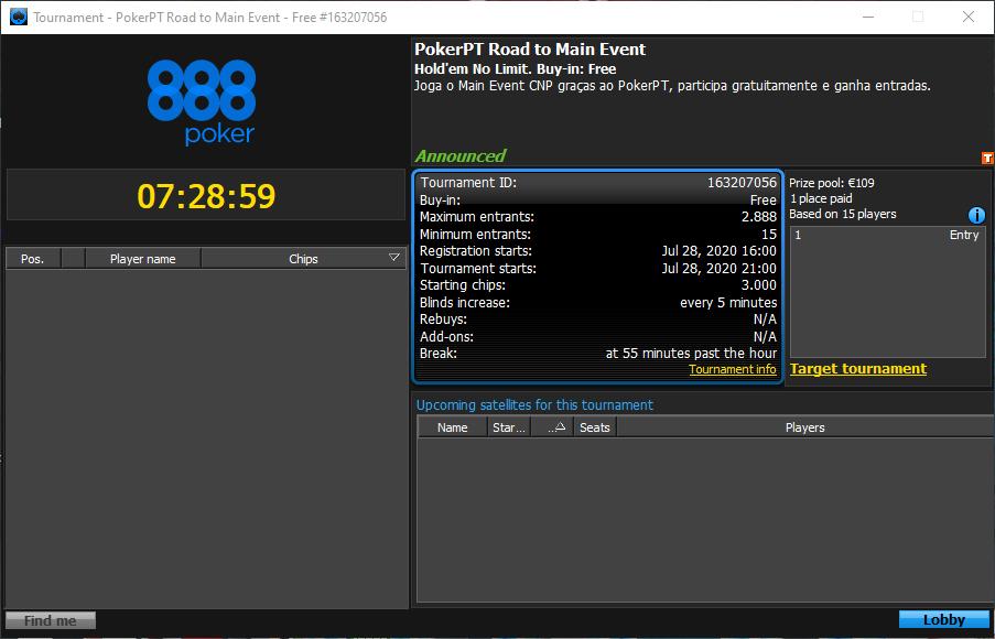 PokerPT Road to Main Event