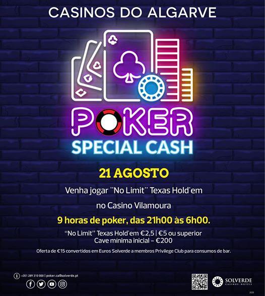 Poker Special Cash Vilamoura