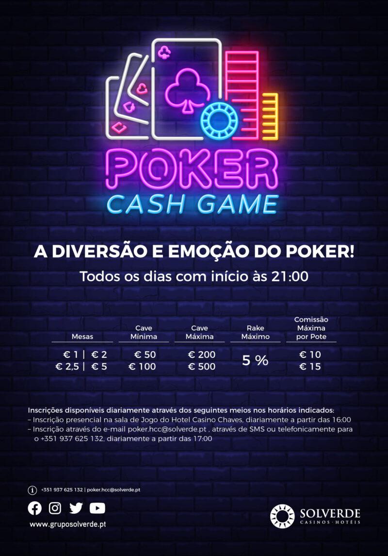 Cash Games Hotel Casino Chaves - Casinos Solverde