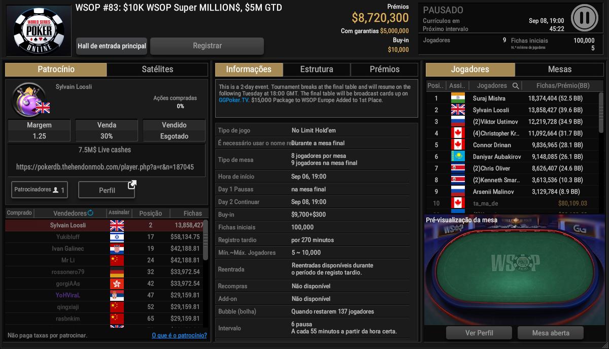 WSOP #83 - GGPoker