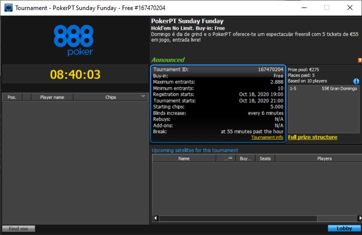 PokerPT Sunday Funday