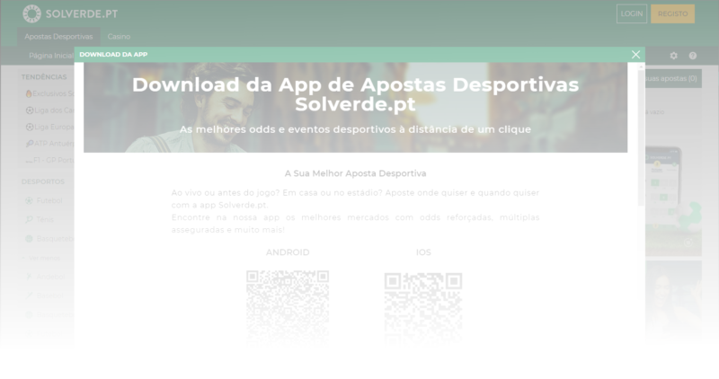 App de Apostas Desportivas