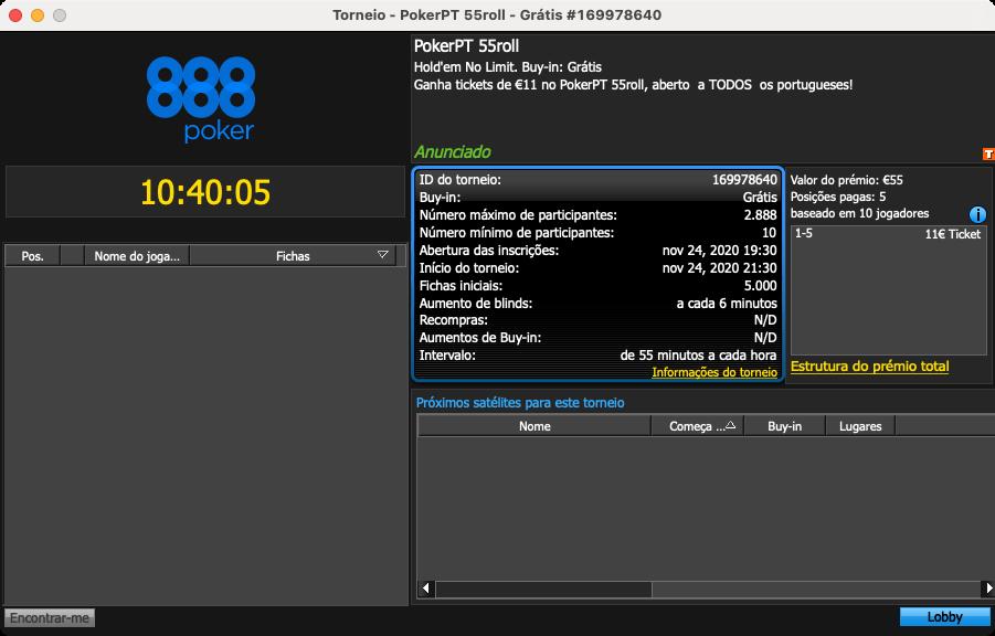 freeroll pokerpt55roll 888poker