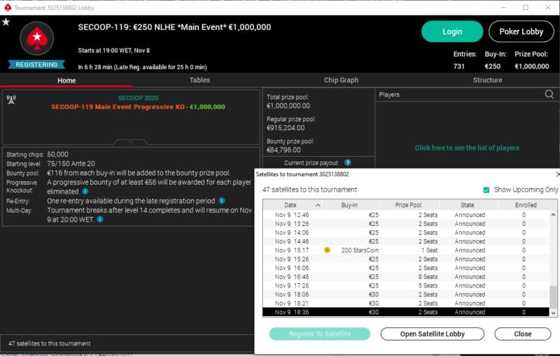 PokerStars SECOOP Main Event