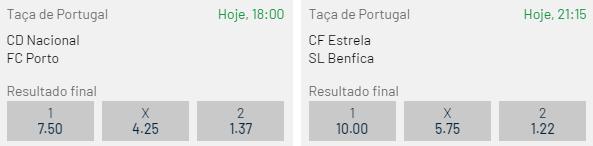 Jogos Taça de Portugal