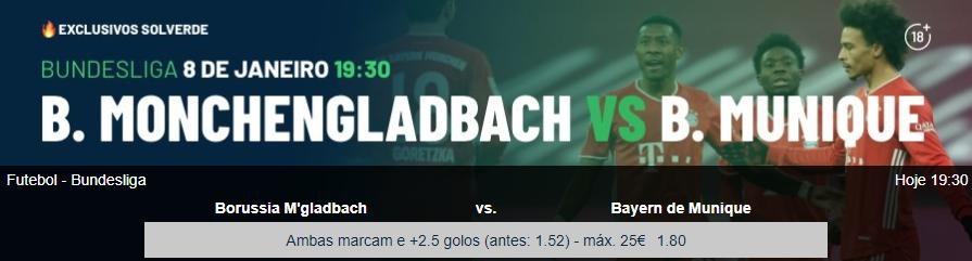 Monchengladbach - Bayern Munique
