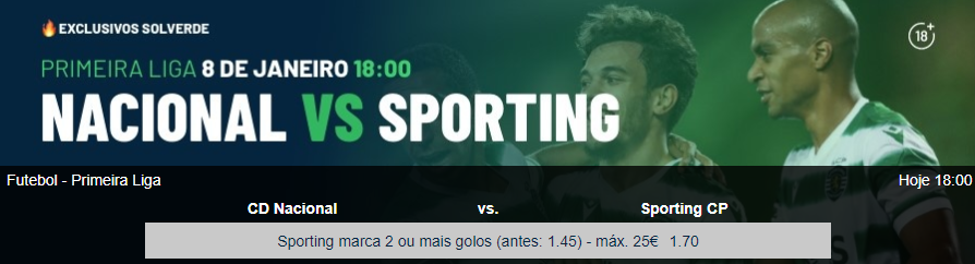 Nacional - Sporting
