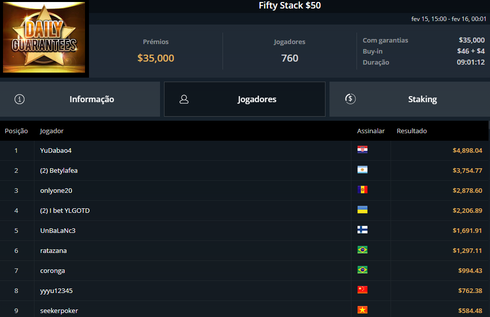 Fifty Stack $50