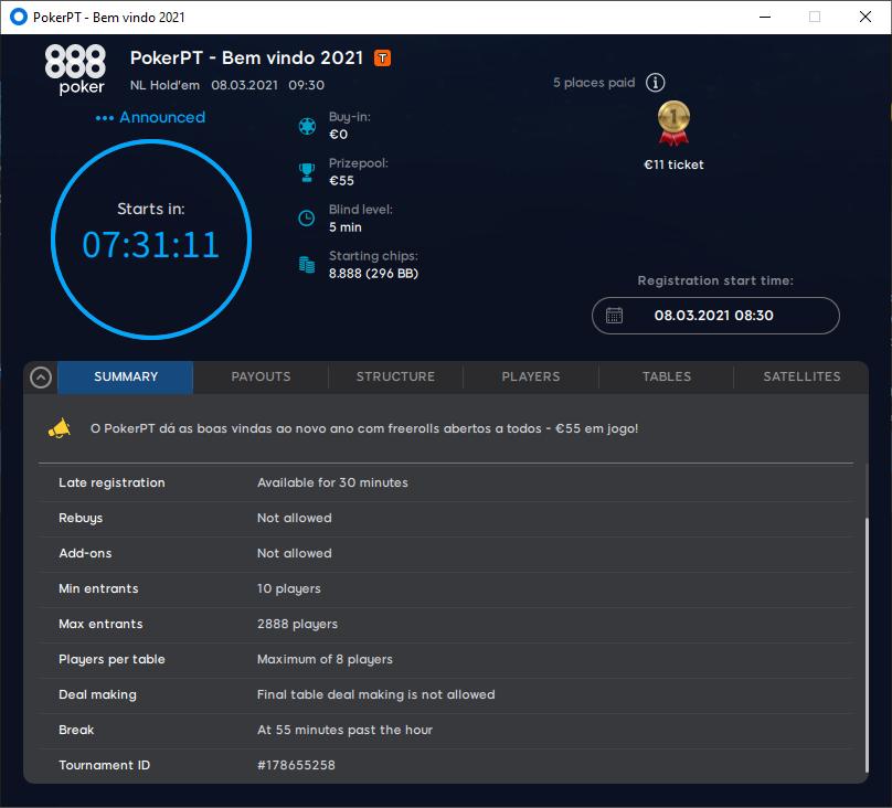 PokerPT - Bem vindo 2021 #26