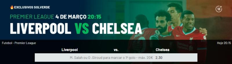Benfica Estoril Liverpool Chelsea