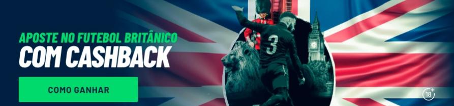 Cashback 100 - Futebol britânico
