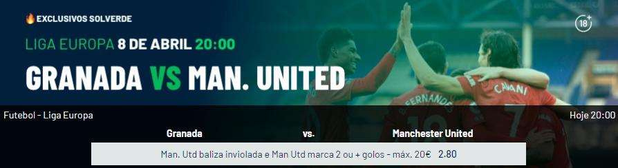 Granada - Manchester United - Exclusivos Solverde
