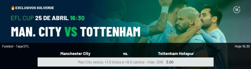 City Tottenham Braga Sporting