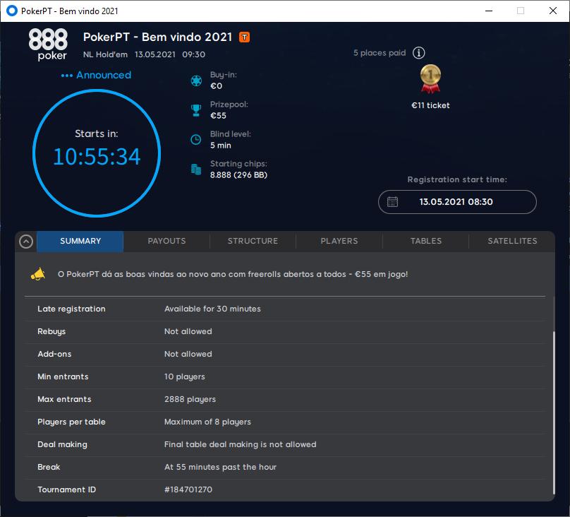 PokerPT - Bem vindo 2021 #59