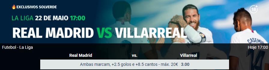 Real Madrid - Villareal