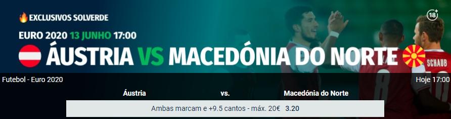 Áustria - Macedónia do Norte
