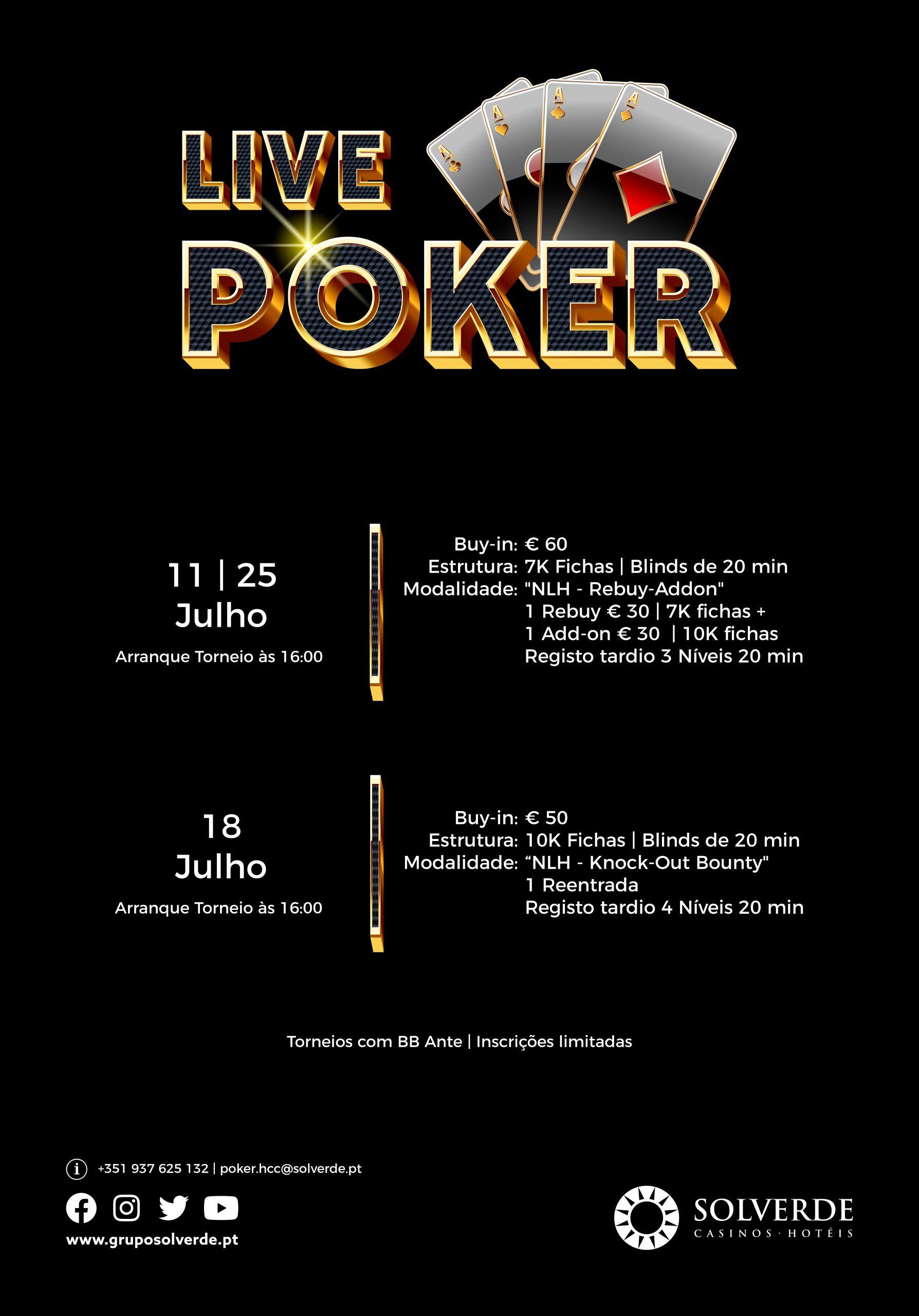 Torneios Casino Chaves