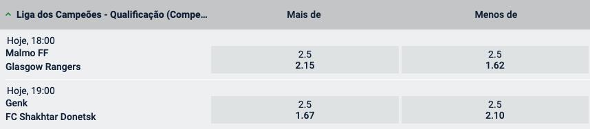 super golos 3 agosto - liga campeoes