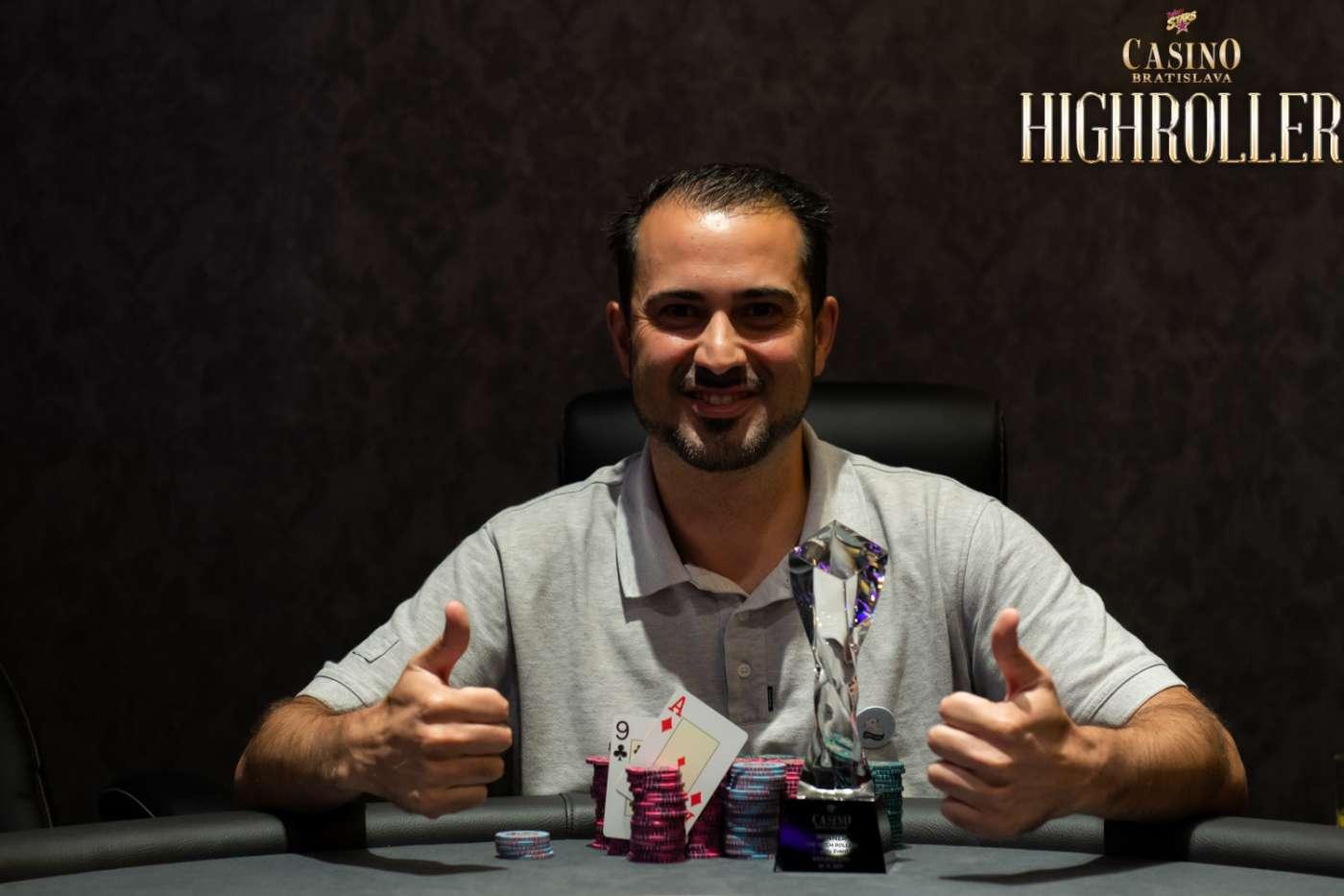 Vitor Hugo - Casino Bratislava Rebuy Stars