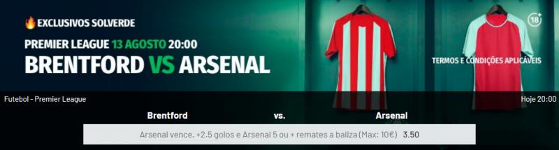 Brentford Arsenal Estoril Vitória