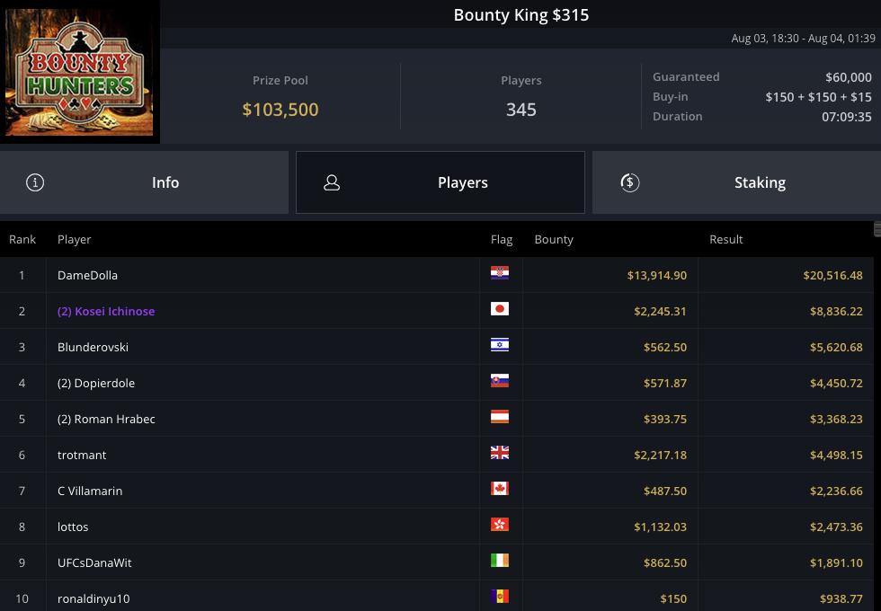 Bounty King $315 bruno bernardino