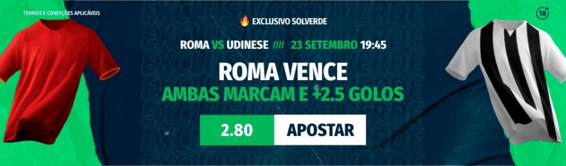 Roma Udinese Ferreira Boavista