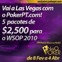NoiQ VIP Points Race - 3 Já carimbaram o passaporte