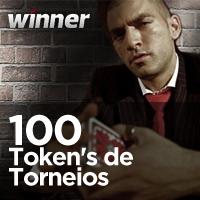 $1.650 Tournament Token Freeroll na Winner Poker hoje à noite