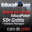 Sexta-feira termina o período de acesso à Bolsa de Estudo EducaPoker - €50 Grátis