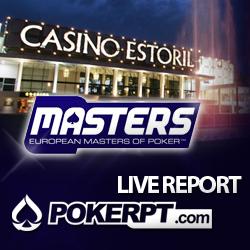 Arranca hoje o European Masters of Poker no Casino do Estoril