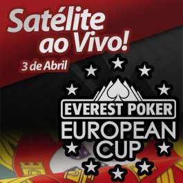 Satélite ao vivo para o Everest Poker European Cup