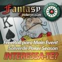 Solverde Poker Season - Diogo Ribeiro conquista entrada no Main Event através da Liga Fantasy PokerPT.com