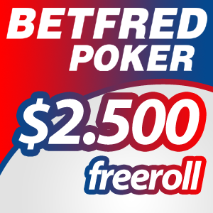 Freeroll de $2.500 na Betfred Poker: Qualifica-te já!
