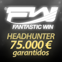 €75.000 garantidos no torneio Head-Hunter da Fantastic Win
